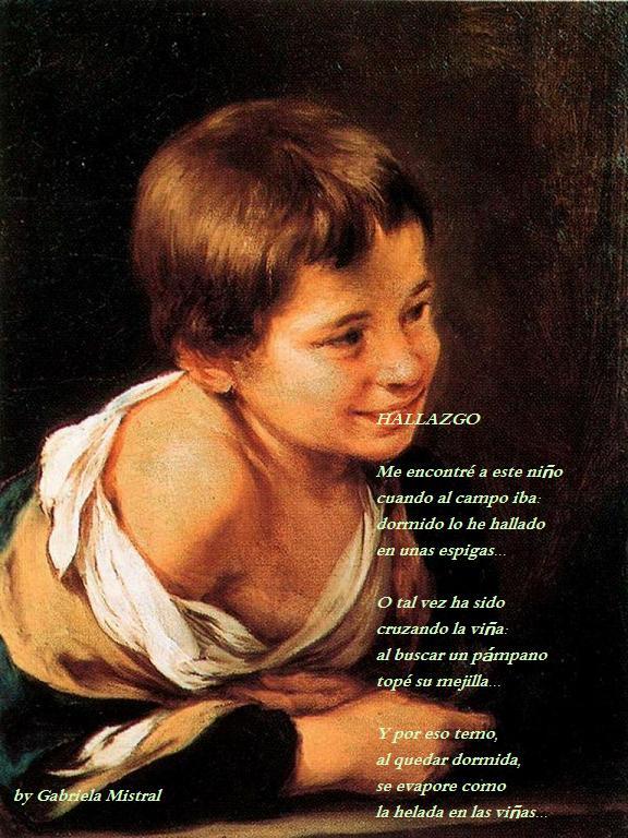 Poemas cortos para niños de gabriela mistral - Imagui