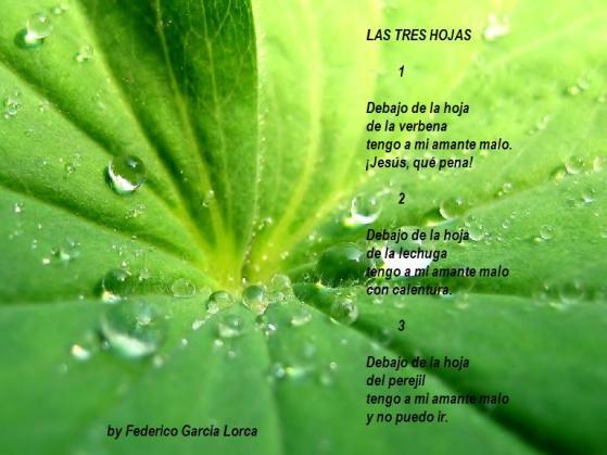 las tres hojas