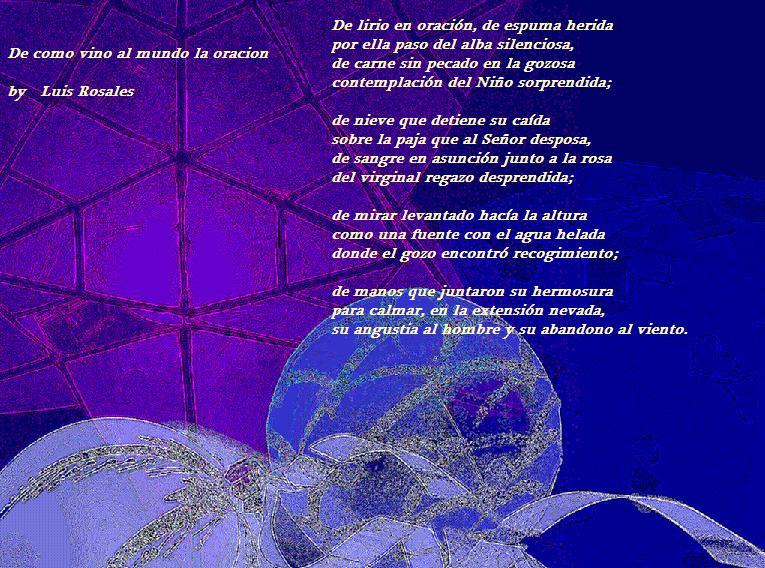 De como vino al mundo la oracion – Luis Rosales