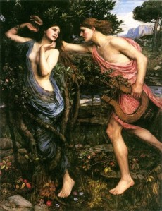 Apolo y Dafne. John William Waterhouse (1908)